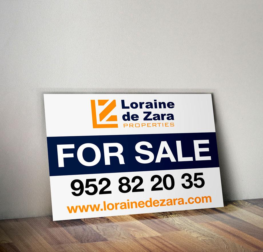 Sale & Rent poster Marbella