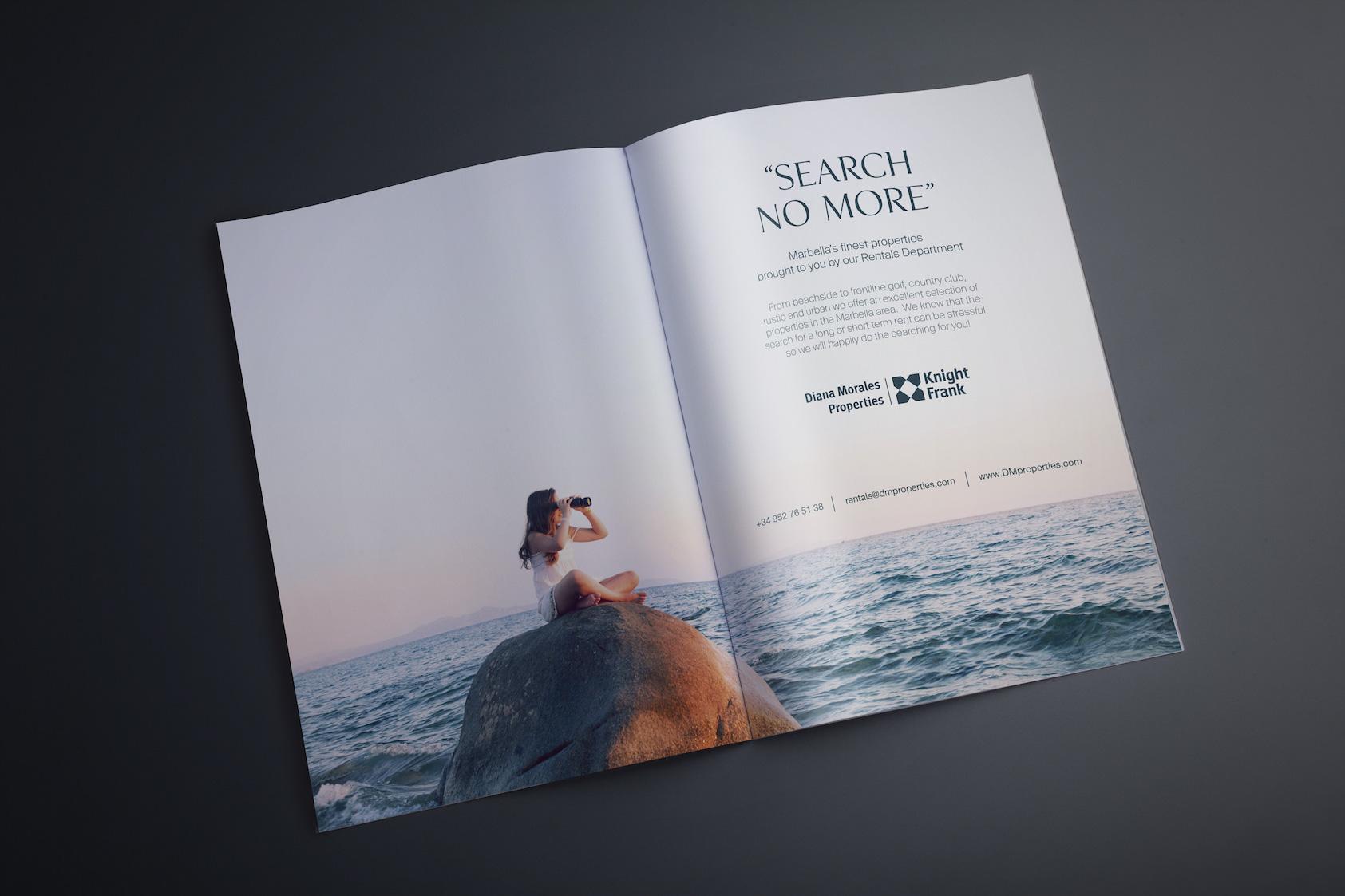 Advertising in Highlights Marbella magazine