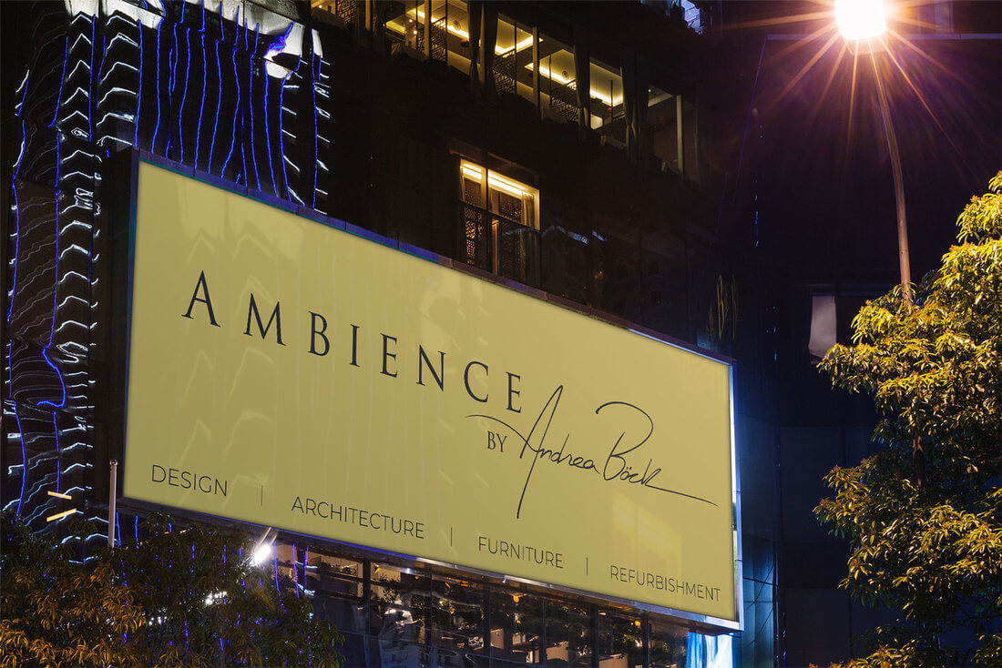 Ambience outdoor advertising