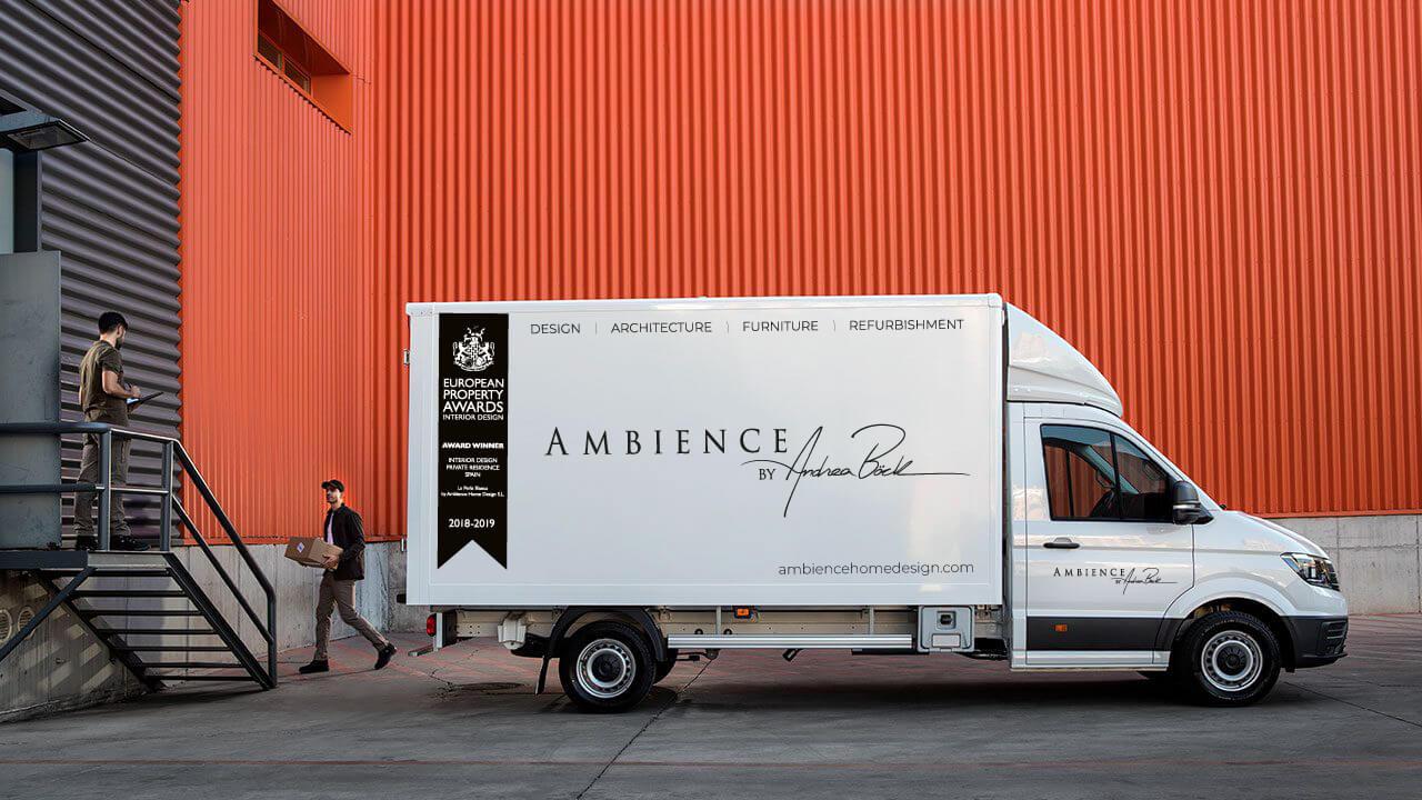 Ambience vinyl truck